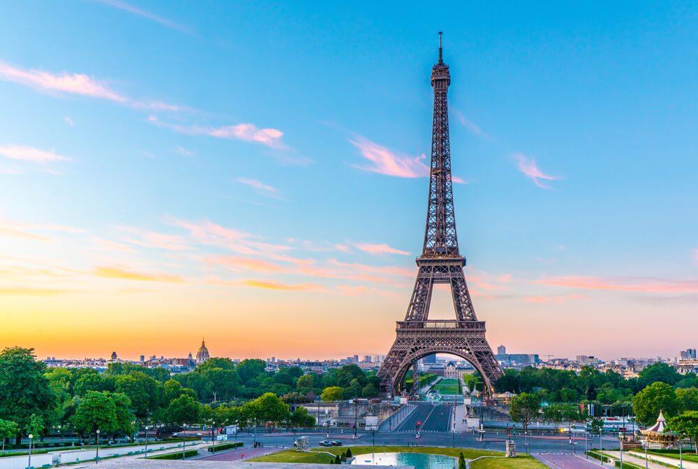 Torre Eiffel en París, uno de los destinos más comunes de los miembros eDreams Prime