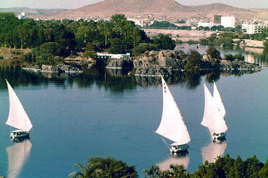 Río Nilo.